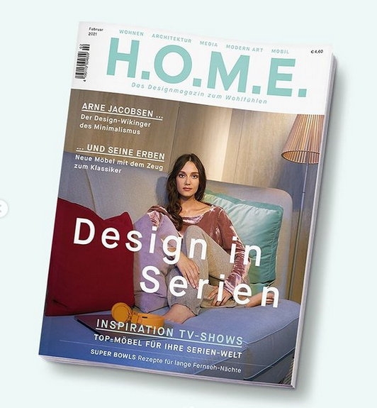 Home Designe Magazin cover Feb21