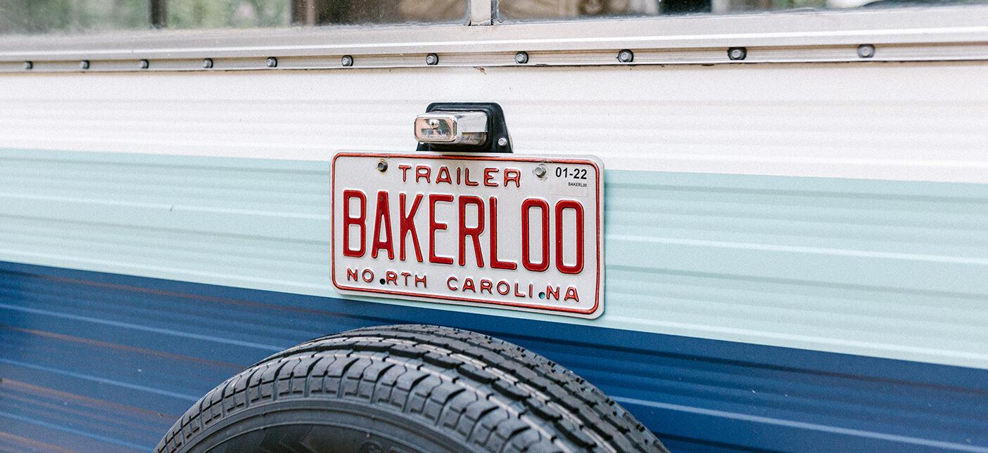bakerloo license plate